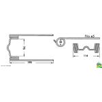 Dinte pick-up Case/IHC F200-F220